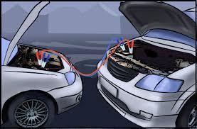 Как прикурить автомобиль, если в автомобиле аккумулятор сел