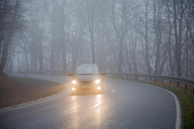Вождение при тумане